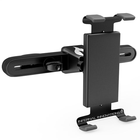 Side View of Mountster SR Headrest Tablet Mount