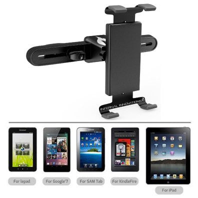 #1 Voted Car Tablet Headrest Mount | Mountster SR Headrest Tablet Mount | Car Seat Tablet Holder