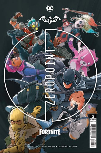 BATMAN FORTNITE ZERO POINT #2 Second Printing Pre-order, expected 6/1
