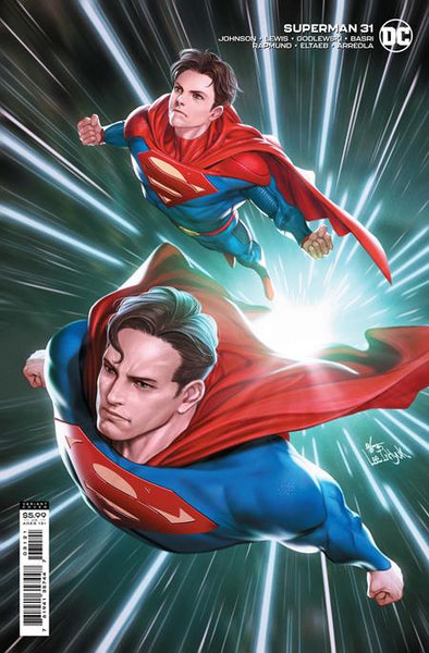 Copy of SUPERMAN #31 CVR B INHYUK LEE CARD STOCK VAR Preorder, expected 5/11