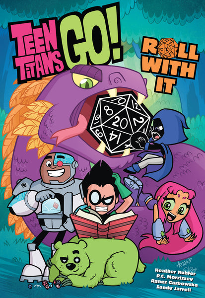 TEEN TITANS GO ROLL WITH IT TP