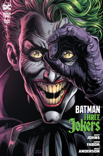 BATMAN THREE JOKERS #3 (OF 3) CVR A JASON FABOK JOKER Release Date: 10/27/2020