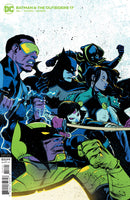 BATMAN AND THE OUTSIDERS #17 CVR B SANFORD GREENE VAR
