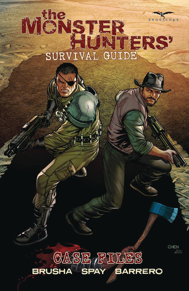 MONSTER HUNTERS SURVIVAL GUIDE CASE FILES TP Pre-Sale, Releases 10/14/20