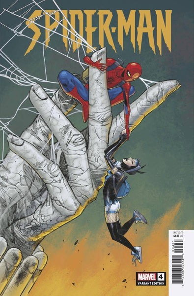 SPIDER-MAN #4 (OF 5) PICHELLI 1:25 VAR PRESALE Estimated Release 9/23/2020