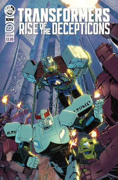TRANSFORMERS #22 CVR B GRIFFITH