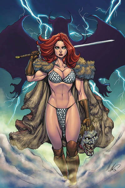 RED SONJA AGE OF CHAOS #6 GARZA LTD VIRGIN CVR