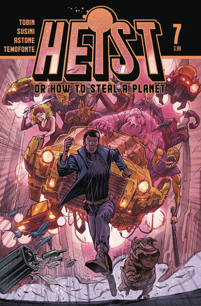 HEIST HOW TO STEAL A PLANET #7 PRESALE Releases 10/21/20