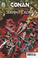 CONAN BATTLE FOR SERPENT CROWN #5 (OF 5) MCKONE VAR