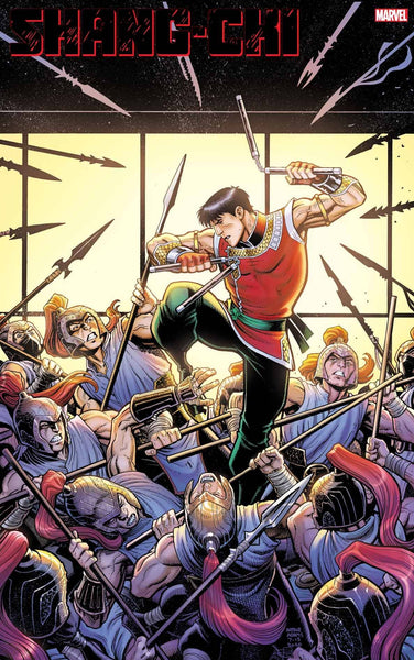 SHANG-CHI #1 (OF 5) ADAMS VAR Pre Sale Ships 9/30/20