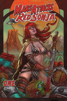 MARS ATTACKS RED SONJA #1 CVR D STRATI