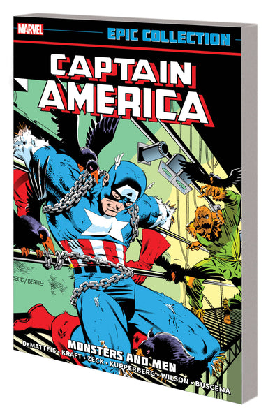 CAPTAIN AMERICA EPIC COLLECTION TP MONSTERS AND MEN