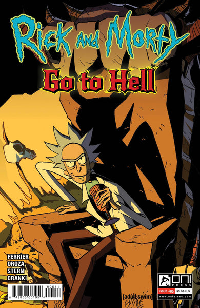 RICK AND MORTY GO TO HELL #5 CVR A PRESALE Releases 10/21/20