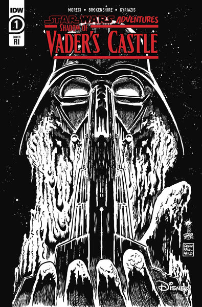 STAR WARS ADV SHADOW OF VADERS CASTLE 10 COPY INCV CVR FRANC PRESALE Releases 10/21/20