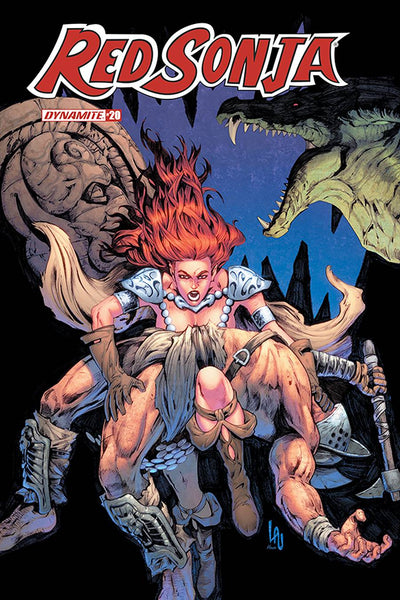 RED SONJA #20 7 COPY LAU HOMAGE INCV Release Date 10/7
