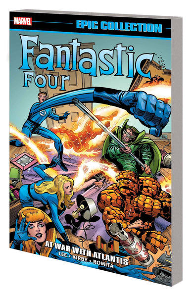FANTASTIC FOUR EPIC COLLECTION TP AT WAR WITH ATLANTIS Pre Sale Ships 9/30/20