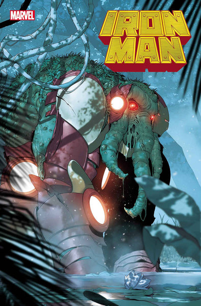 IRON MAN #2 DE IULUS IRON MAN THING HORROR VAR PRESALE Releases 10/21/20