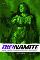 DIE!NAMITE #1 13 COPY PARILLO DRESSED GANGRENE GREEN TINT FO Pre-Sale, Releases 10/14/20