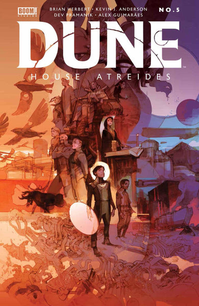 DUNE HOUSE ATREIDES #5 (OF 12) CVR B TOCCHINI Preorder expected 3/23