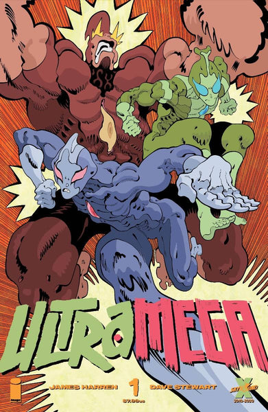 ULTRAMEGA BY JAMES HARREN #1 CVR B MOORE (MR) Pre Order expected 3/17