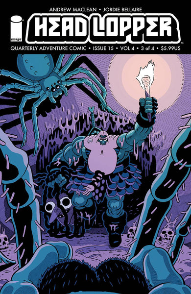 HEAD LOPPER #15 CVR A MACLEAN & BELLAIRE (MR) Pre Order expected 3/17