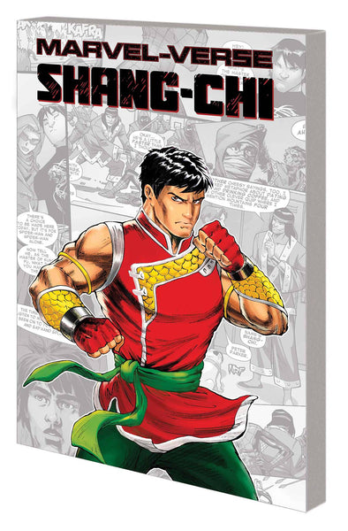MARVEL-VERSE GN TP SHANG-CHI Preorder expected 4/21/21