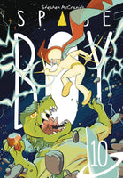 STEPHEN MCCRANIES SPACE BOY TP VOL 10 preorder, expected 4/7