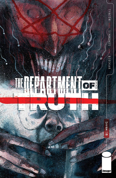 DEPARTMENT OF TRUTH #8 CVR A SIMMONDS (MR) preorder, expected 4/28