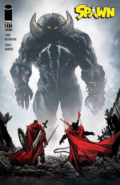 SPAWN #317 CVR B MCFARLANE preorder, expected 4/28
