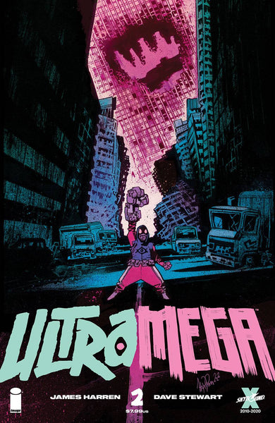 ULTRAMEGA BY JAMES HARREN #2 CVR A HARREN (MR) Preorder expected 4/21/21