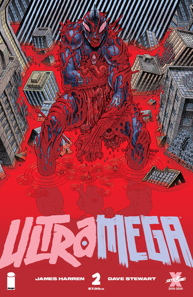 ULTRAMEGA BY JAMES HARREN #2 CVR B BERTRAM (MR) Preorder expected 4/21/21