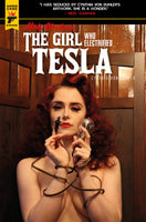 MINKY WOODCOCK GIRL ELECTRIFIED TESLA #1 CVR C PHOTO (MR) Preorder, expected 4/14