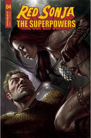 RED SONJA THE SUPERPOWERS #4 CVR A PARRILLO Preorder, expected 4/14