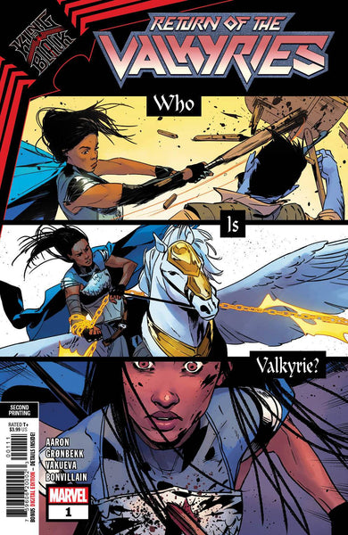 KING IN BLACK RETURN OF VALKYRIES #1 (OF 4) 2ND PTG VAR Pre-Order expected release 2/24