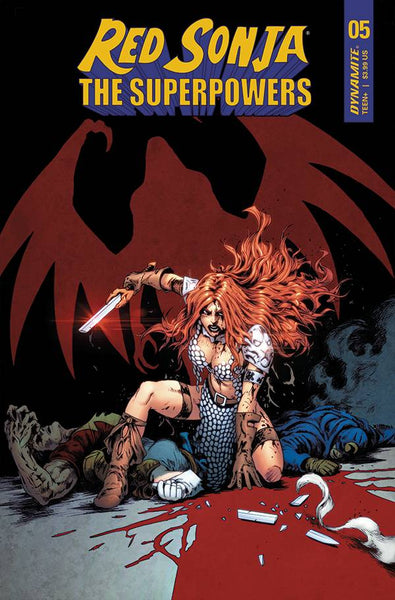 RED SONJA THE SUPERPOWERS #5 CVR D LAU presell, expected 5/12/21