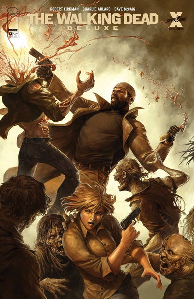 WALKING DEAD DLX #13 CVR D RAPOZA (MR) Preorder expected 4/21/21