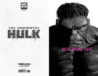 IMMORTAL HULK #37 ALEX ROSS HULK TIMELESS VIRGIN SKETCH VAR 1:100
