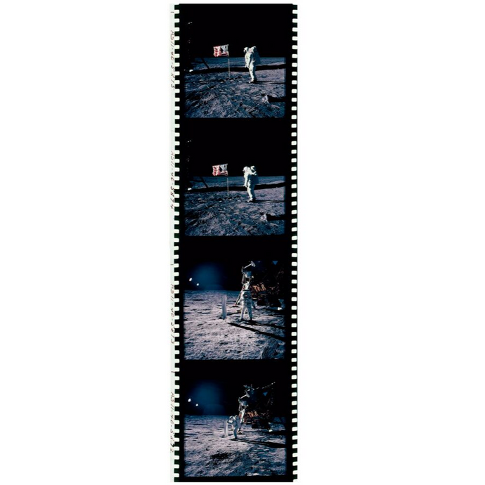 FILM ROLL 4 – FLAG  APOLLO 11 – 1969