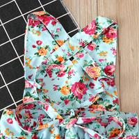 Sweet Mia Backless Floral Dress