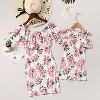 Off Shoulder Ruffle Mommy&Me (Toddler)