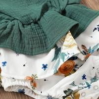 Mia's Patchwork Flower Bodysuit