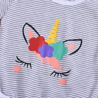 Unique Stripe Unicorn Set
