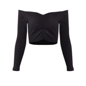Slim Long Sleeve Crop