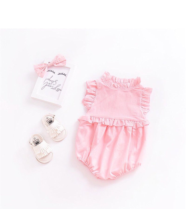 Cotton Candy Pink 2Layer Bodysuit
