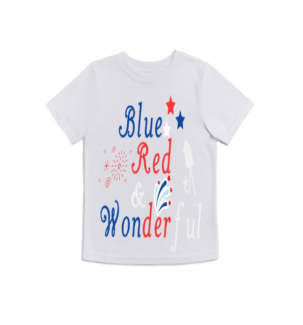 Blue Red & Wonderful