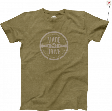 Petrolicious Made To Drive Tシャツ