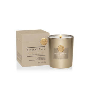 Rituals Private Collection Sweet Jasmine Scented Candle 360g - Lumanare Parfumata de Lux