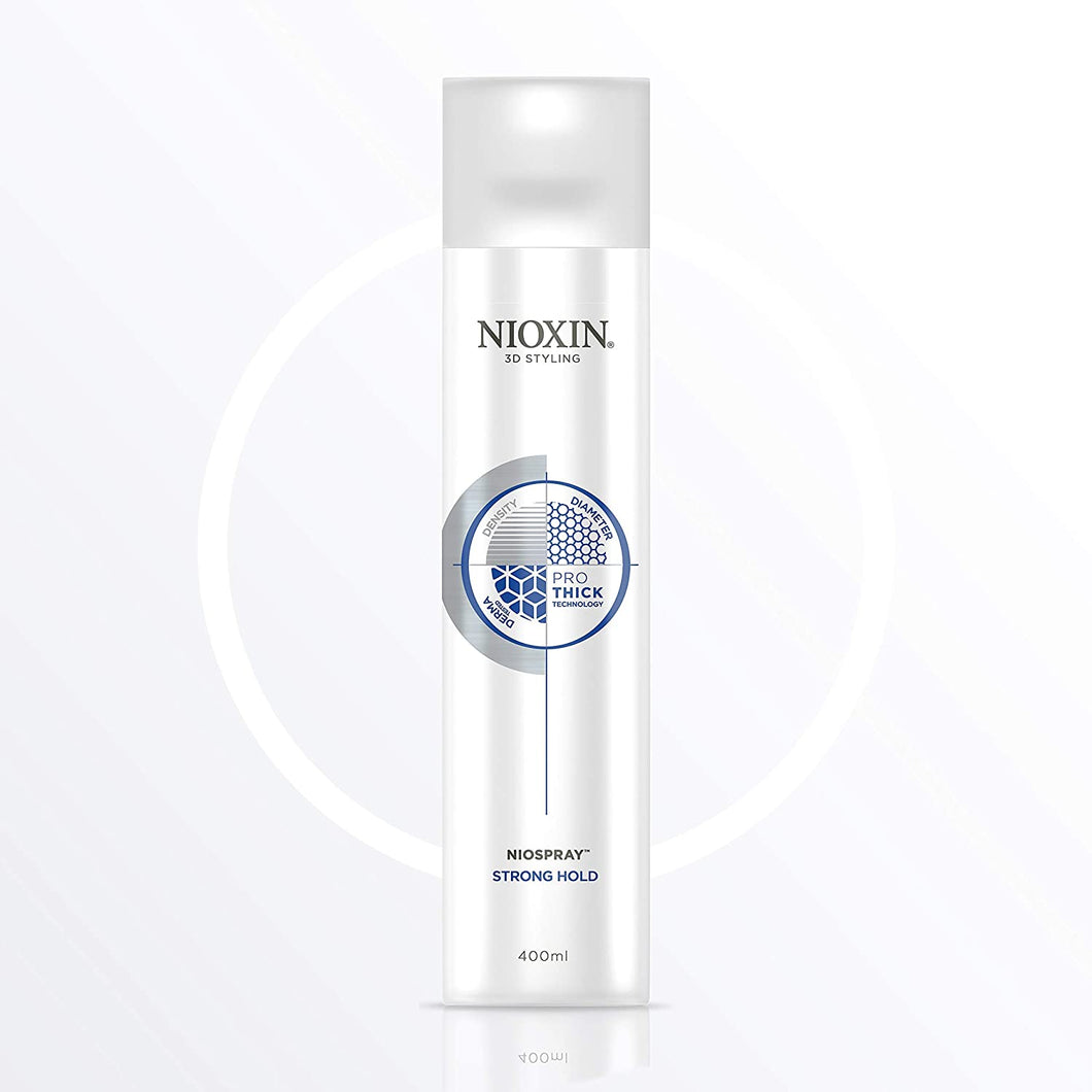Nioxin Niospray Strong Hold 400ml - Fixativ Pentru Volum