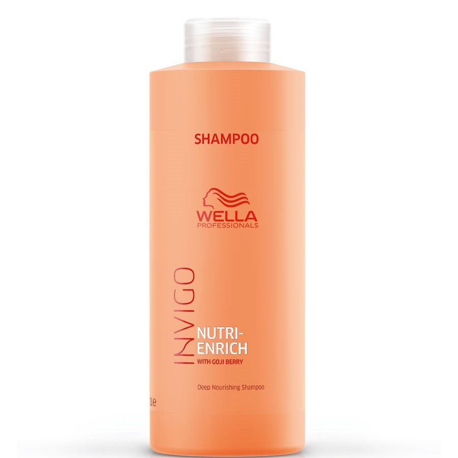 Wella Professional Invigo Nutri Enrich Sampon 1000ml - Sampon Hidratant
