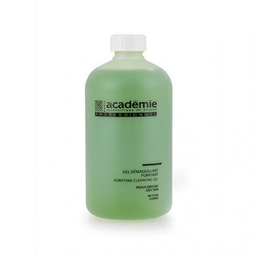 Gel Academie Demachiant Purifiant regleaza secretia de sebum 500ml - beauty-lounge.ro